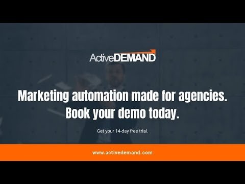 Affordable Marketing Automation for Agencies - ActiveDEMAND Marketing Automation Platform