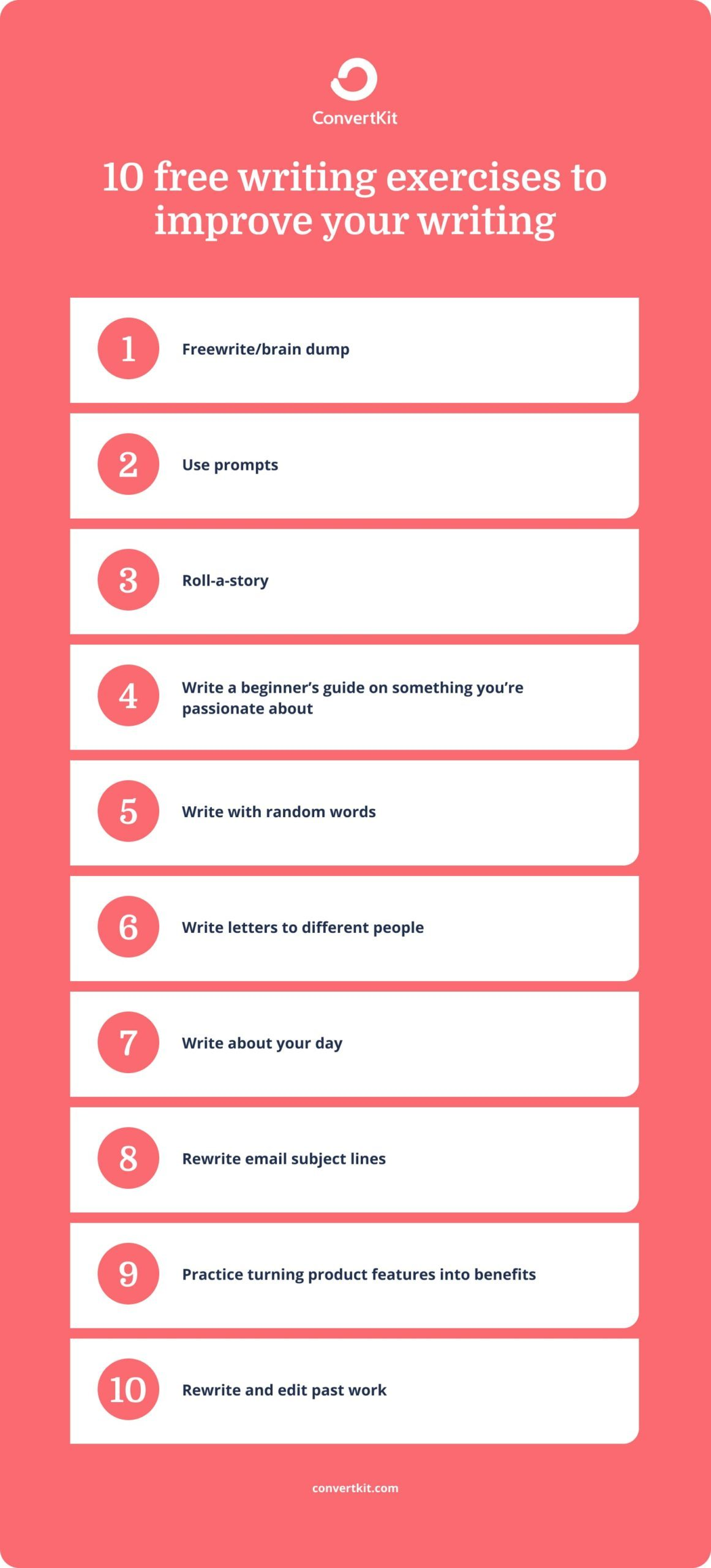 10 ten-minute writing exercises to sharpen your skills (even as a non-writer)