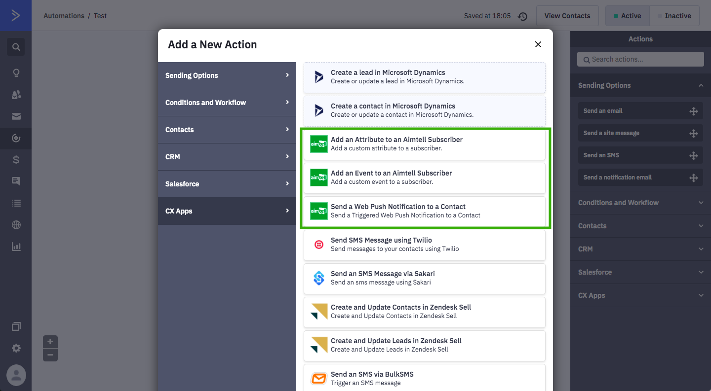 Automate Web Push Notifications With ActiveCampaign and Aimtell