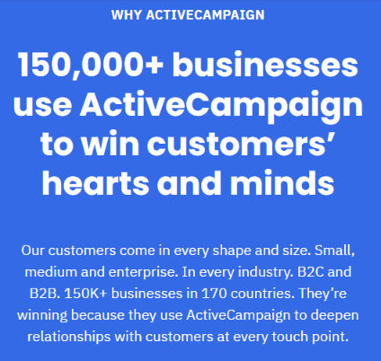 Why Active Campaign