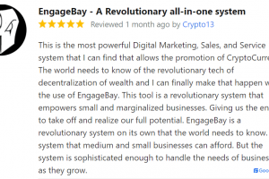 EngageBay Helps Businesses Grow With New Solutions: GoodFirms
