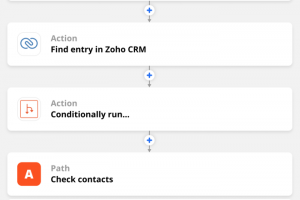 How to use Zapier to avoid duplicate entries in Zoho CRM