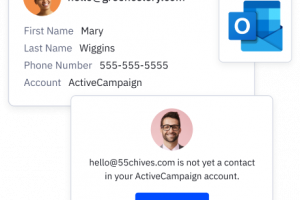 Microsoft Outlook Extension for ActiveCampaign
