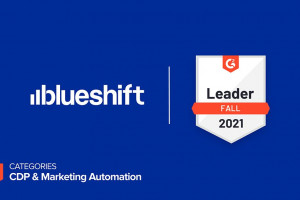 Blueshift Named a CDP and Marketing Automation Leader in G2's Fall 2021 Report