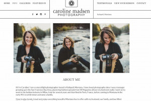 11 Tips to Create a Photographer About Me Page (With Examples)